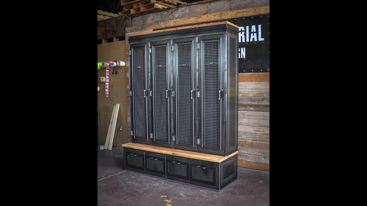 Industrial Storage Lockers