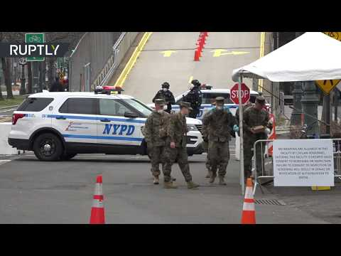 War on COVID-19 | Trump deploys army to NYC as promised
