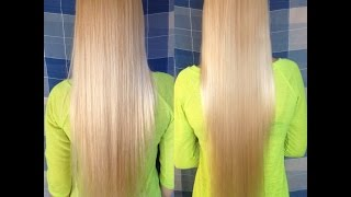Ламинирование волос в домашних условиях/ Hair lamination(Эффект: волосы блестят и выглядят здоровыми на вид, становятся крепкими и упругими. Посеченные кончики..., 2015-10-06T20:52:47.000Z)