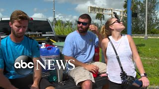 Key West residents anxious to see the devastation caused to their property
