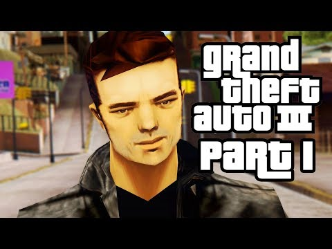 Grand Theft Auto 3 PS4 Gameplay Walkthrough Part 1 - OPENING & MISSION 1 (GTA 3)