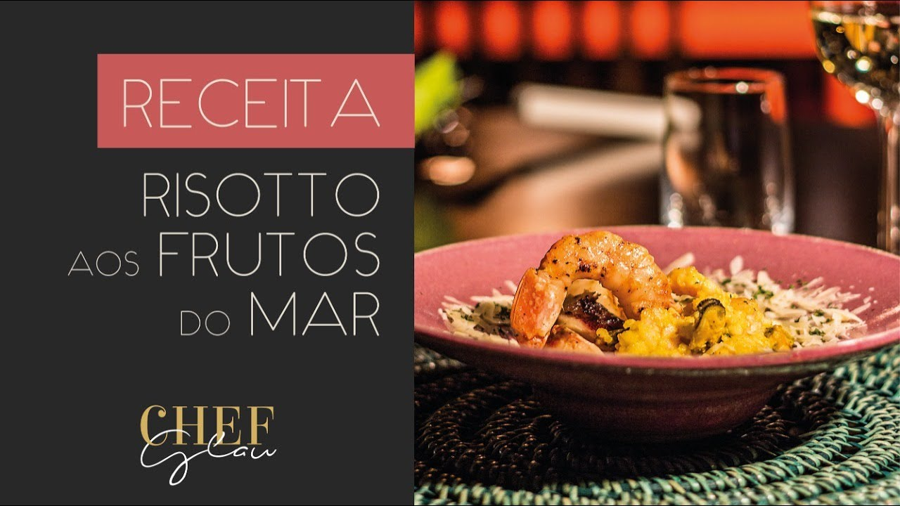 Receita de Risotto aos Frutos do Mar