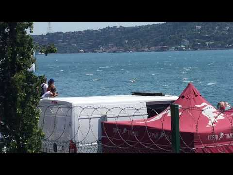 Dispersion in the 2017 Bosphorus Cross-Continental Swim