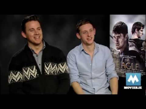 CHANNING TATUM & JAMIE BELL fun interview for The Eagle