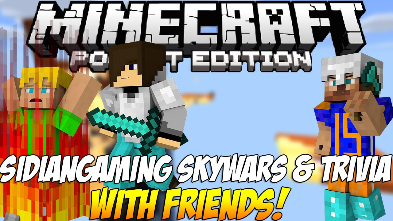 how to connect with friends on minecraft pocket edition