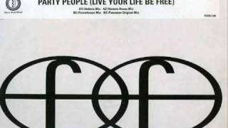 Pianoman - Party People (Live your Life Be Free).wmv