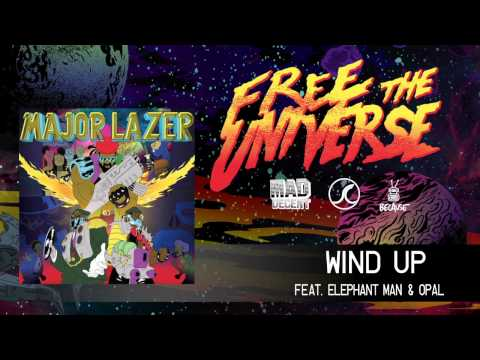 Major Lazer - Wind Up (feat. Elephant Man & Opal) (Official Audio)