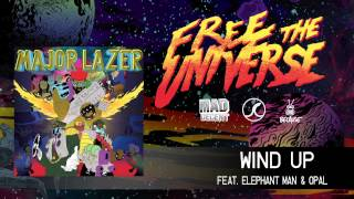 Major Lazer - Wind Up featuring Elephant Man & Opal [OFFICIAL HQ AUDIO]