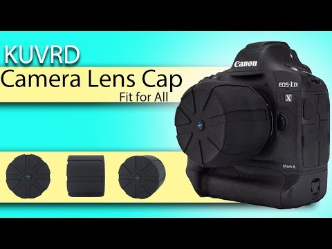 KUVRD - Universal Camera Lens Cap Protection for all DSLR