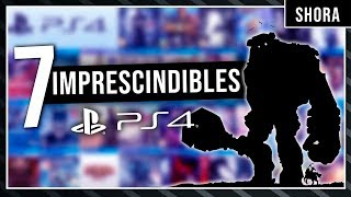 Los 7 MEJORES JUEGOS de PS4 que DEBES JUGAR (2019)   Top JUEGOS PS4