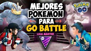 🥊¡NO HAY LÍMITE! LOS POKÉMON MÁS BESTIALES PARA LA LIGA MÁSTER #GoBattleLeague  Pokémon Go [Neludia]