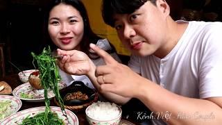 Trai Hàn mê mẫn với món cơm quê Việt Nam dân dã (#miền tây) 🇻🇳204
