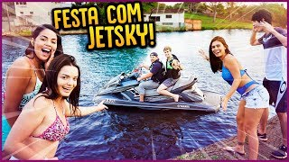 FESTA NO LAGO COM JETSKI!! - FÉRIAS ESCOLARES #10 [ REZENDE EVIL ]