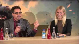 """Robert Downey Jr. (Iron Man 3) """"They don't teach French in jail!"""" [HD]"""