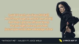Without Me Lyrics Halsey ft Juice WRLD.mp3