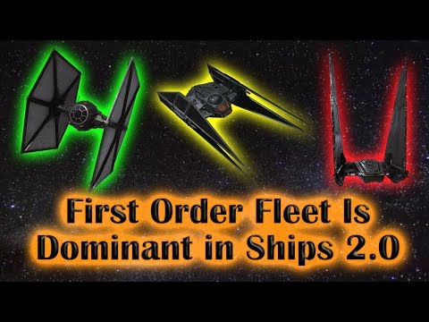 First Order Fleet Reigns Supreme in Ships 2 0