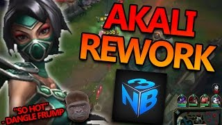 AKALI REWORK WITH NIGHTBLUE3 - League of Legends PBE Commentary