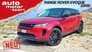 Range Rover Evoque (2019): Der Geländewagen unter den Premium-SUV? – Review | auto motor & sport