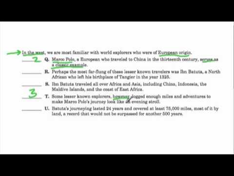 SHSAT - scrambled paragraph 2 (#2) by shaunteaches