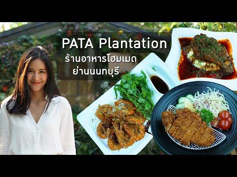 PATA Plantation ร้านอาหารโฮมเมด ย่านนนทบุรี