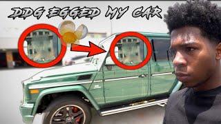 DDG EGGED MY $130,000 CAR! *This Started A Prank War*