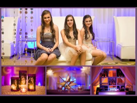 Getting Ready for Saige's Bat Mitzvah