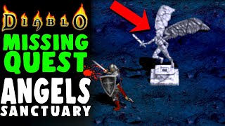DIABLO CUT CONTENT: Corrupted Angels Sanctuary -  ISLAND OF THE SUNLESS SEA - Diablo 1 Lore