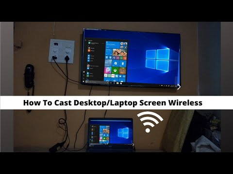 How To Cast Laptop Screen On TV Without Cable.