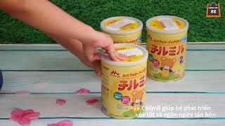 Sữa bột Morinaga Chilmil cho trẻ từ 6-36 tháng tuổi