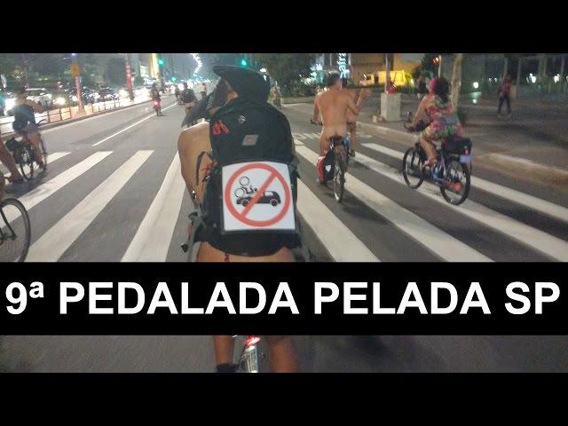 9ª Pedalada Pelada - WNBR 2016 São Paulo