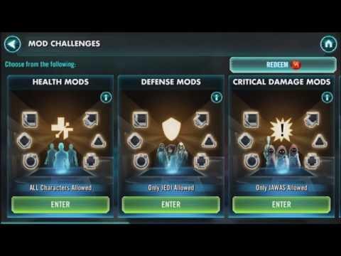 Star Wars Galaxy Of Heroes Best Characters 2020 Star Wars: Galaxy Of Heroes   MOD Guide And Tips   YouTube