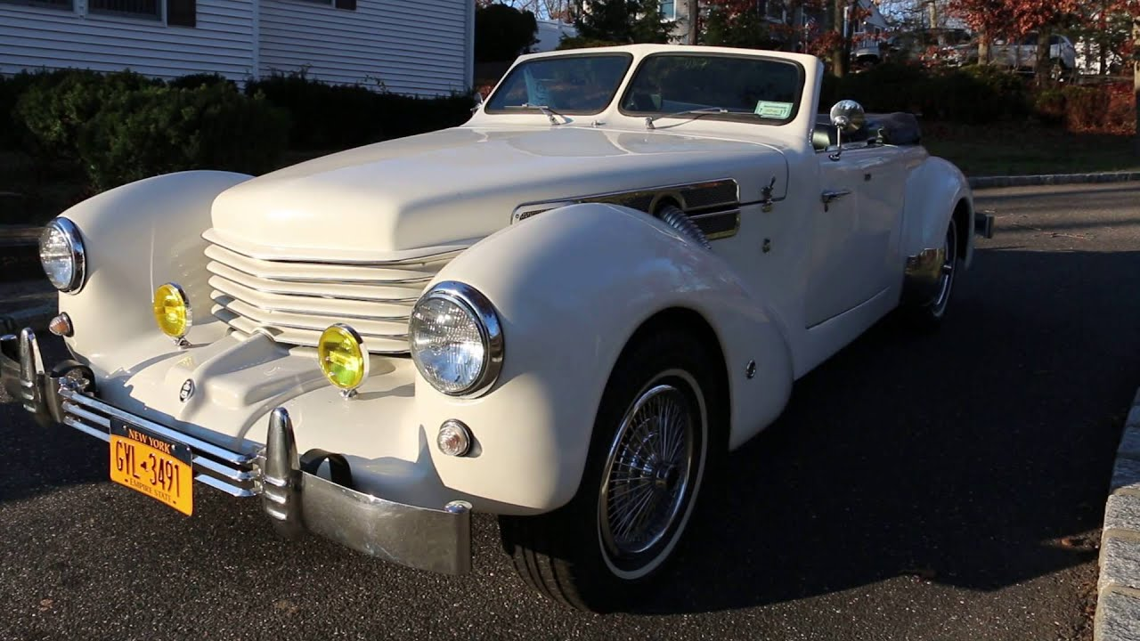 1969 cord warrior roadster for sale samco body 5 256 for Cord motor car for sale