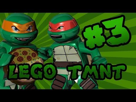 LEGO Teenage Mutant Ninja Turtles (TMNT): Episode 3 | TwinToo Bricks