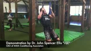 Nonsymmetrical (and uneven grip) Pull-up Technique for MMA and Jiu Jitsu Grip Strength