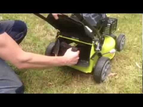 How To Install The Mulching Plug On Ryobi Subaru Lawn