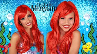 Disney Little Mermaid Ariel Makeup and Costumes