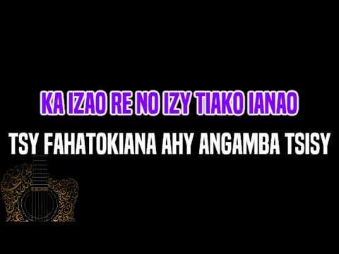 Njakatiana - Izao re no izy (KARAOKÉ)
