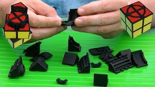 Unboxing Simple Slide in Shapeways Black HP Strong and Flexible