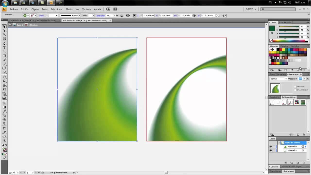 degradados en illustrator tutorial - YouTube