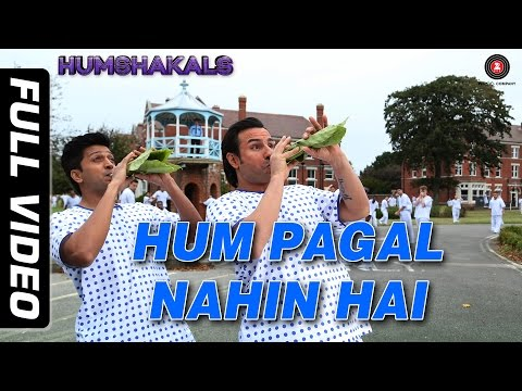 Hum Pagal Nahin Hai Full Video HD | Humshakals | Saif & Ritiesh | Himesh Reshammiya