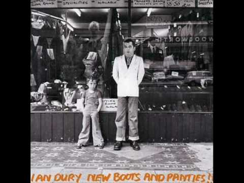 Ian Dury - Plaistow Patricia (New boots and panties) With Lyrics!