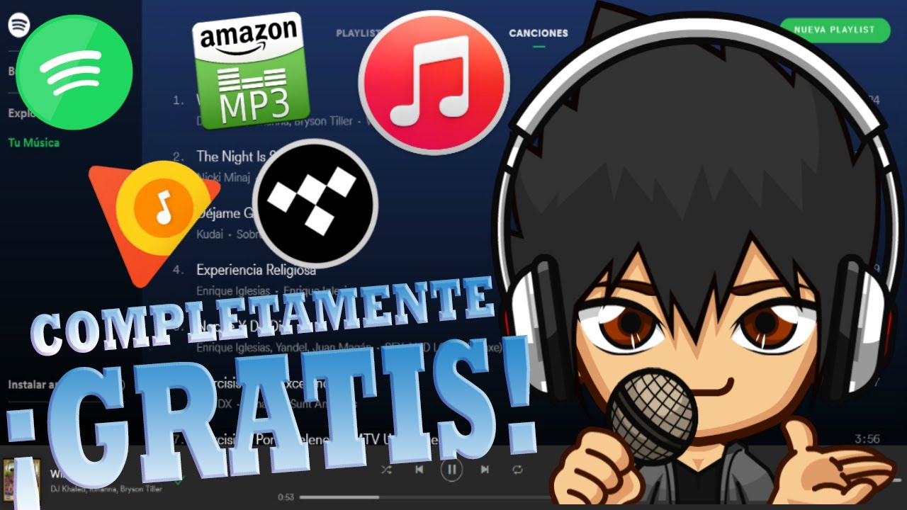 Descarga musica de Spotify, Apple Music, TIDAL, Etc  Completamente ¡GRATIS!  - By Goch