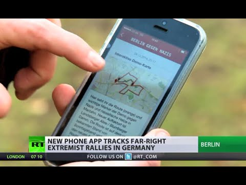 Berlin vs Nazis: Mobile app tracks ultra-nationalist rallies in Germany