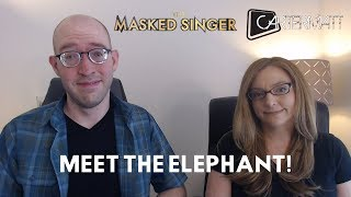 The Masked Singer reaction! The Elephant revealed! Frog, Banana, Kitty guesses