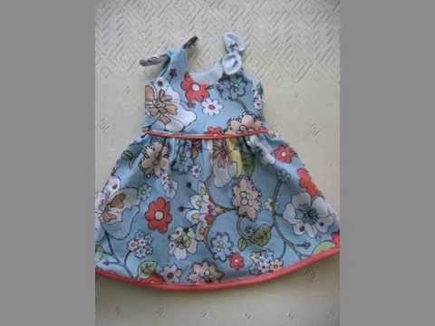 Baby Dress Free Pattern - YouTube