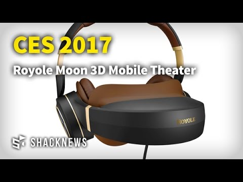 CES 2017: Royole Moon 3D Mobile Theater