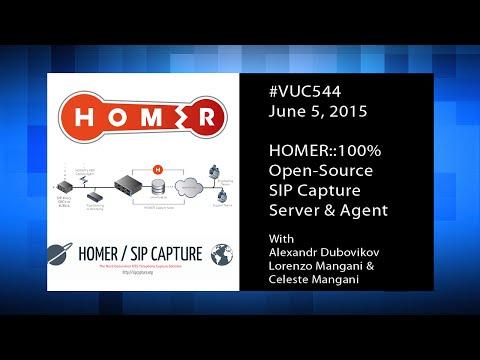 #vuc544 - HOMER Open-Source SIP Capture