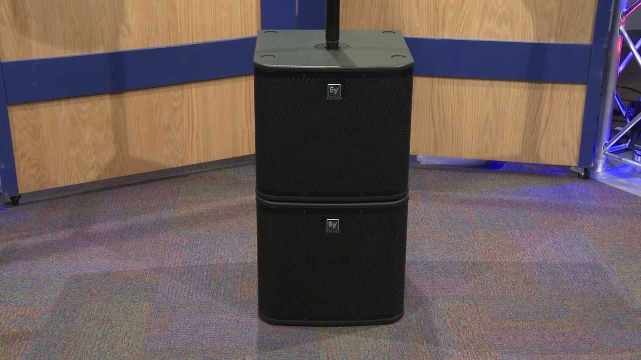 Electro-Voice ZXA1 PA System w/ 700W Powered Subwoofer Overview | Full  Compass