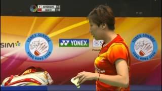 SF - WD - Wang X./Yu Y. vs S.Matsuo/M.Naito - 2012 Yonex-Sunrise Hong Kong Open