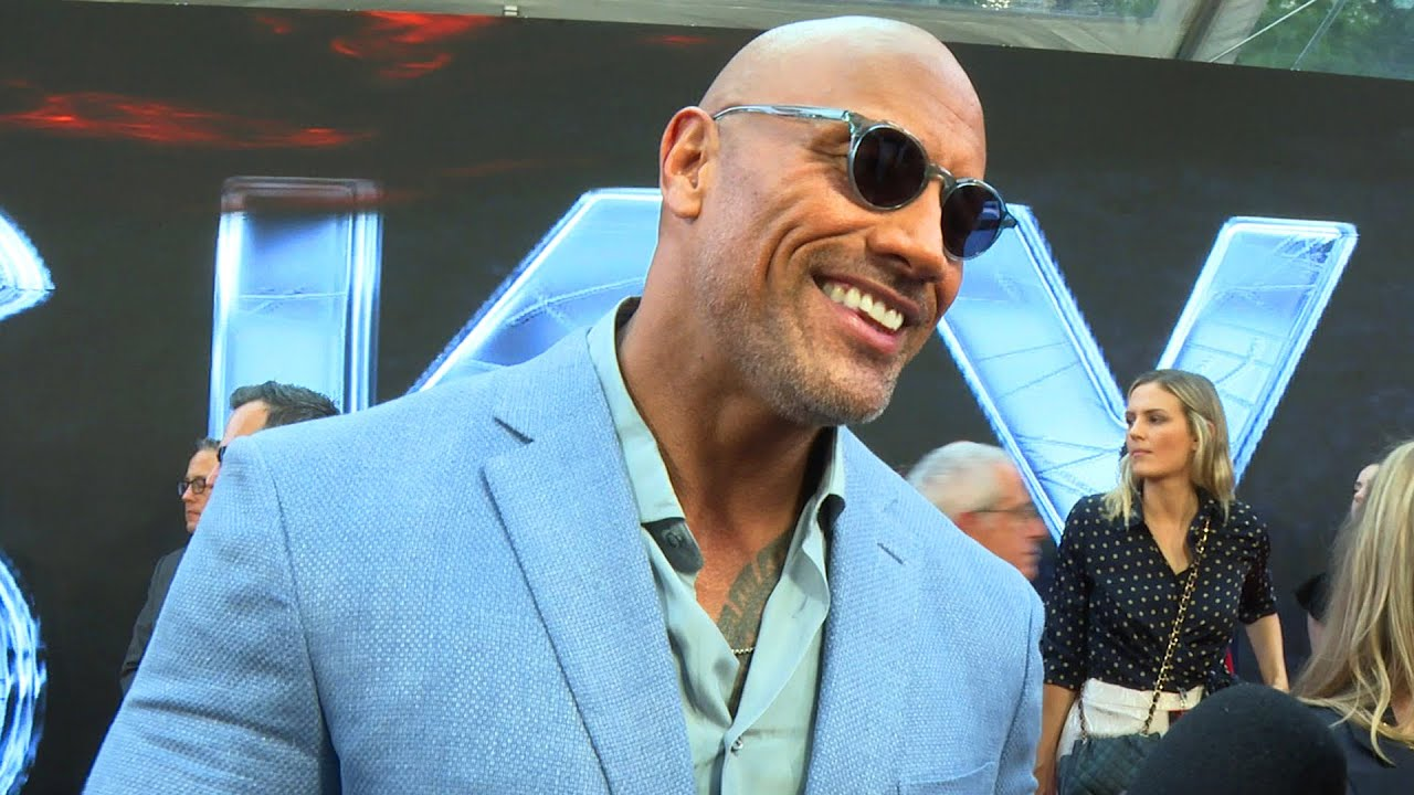 The Rock talks about getting back into a WWE ring